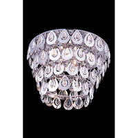 Elegant Lighting Sophia 6 Light Flush Mount in Chrome with Royal Cut Clear Crystal 2903F20C/RC