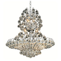 Elegant Lighting Sirius 14 Light Dining Chandelier in Chrome with Royal Cut Clear Crystal 2908D24C/RC alternative photo thumbnail