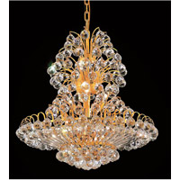 Elegant Lighting 2908D24G/RC Sirius 14 Light 24 inch Gold Dining Chandelier Ceiling Light in Royal Cut alternative photo thumbnail