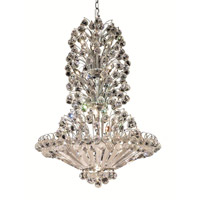 Elegant Lighting Sirius 22 Light Dining Chandelier in Chrome with Spectra Swarovski Clear Crystal 2908D28C/SA alternative photo thumbnail
