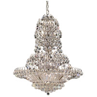 Elegant Lighting Sirius 33 Light Foyer in Chrome with Swarovski Strass Clear Crystal 2908G36C/SS