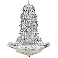 Elegant Lighting 2908G48C/SA Sirius 43 Light 48 inch Chrome Foyer Ceiling Light in Spectra Swarovski