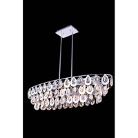 Sophia 7 Light 40 inch Chrome Pendant Ceiling Light