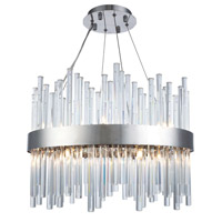 Elegant Lighting 3000D20C Dallas 14 Light 20 inch Chrome Chandelier Ceiling Light, Urban Classic