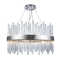 Elegant Lighting 3000D25C Dallas 16 Light 25 inch Chrome Chandelier Ceiling Light, Urban Classic