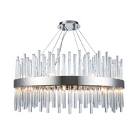 Elegant Lighting 3000D32C Dallas 18 Light 32 inch Chrome Chandelier Ceiling Light, Urban Classic