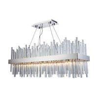 Elegant Lighting 3000G36C Dallas 20 Light 12 inch Chrome Chandelier Ceiling Light, Urban Classic