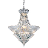Tribeca 20 Light 30 inch Chrome Chandelier Ceiling Light, Urban Classic
