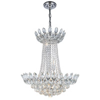 Elegant Lighting 3002D26C/RC Vesper 10 Light 20 inch Chrome Chandelier Ceiling Light, Urban Classic