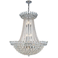 Vesper 17 Light 30 inch Chrome Chandelier Ceiling Light, Urban Classic