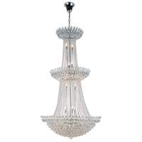 Elegant Lighting 3002G36C/RC Vesper 27 Light 36 inch Chrome Chandelier Ceiling Light Urban Classic