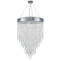Elegant Lighting 3003D24C/RC Granada 7 Light 24 inch Chrome Chandelier Ceiling Light, Urban Classic