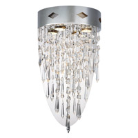 Granada 2 Light 12 inch Chrome Wall Sconce Wall Light