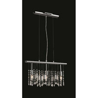 Harmony 3 Light 3 inch Chrome Pendant Ceiling Light