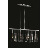 Harmony 4 Light 3 inch Chrome Pendant Ceiling Light