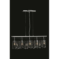 Harmony 5 Light 3 inch Chrome Pendant Ceiling Light