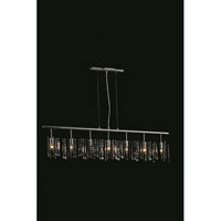 Elegant Lighting Harmony 7 Light Pendant in Chrome with Royal Cut Clear Crystal 3200D54C/RC