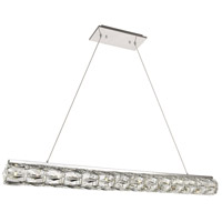 Elegant Lighting 3501D42C Valetta LED 4 inch Chrome Chandelier Ceiling Light
