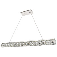 Elegant Lighting 3501D48C Valetta LED 4 inch Chrome Chandelier Ceiling Light