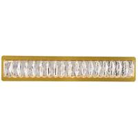 Elegant Lighting 3502W24G Monroe LED Gold Wall Sconce Wall Light