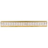 Elegant Lighting 3502W35G Monroe LED Gold Wall Sconce Wall Light