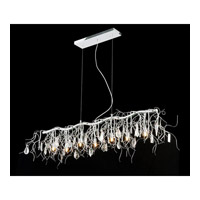 Elegant Lighting 3600D42C/RC Harmony 7 Light 42 inch Crystal Island Pendant Ceiling Light