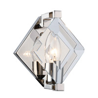 Endicott 1 Light 6 inch Polished Nickel Wall Sconce Wall Light, Urban Classic