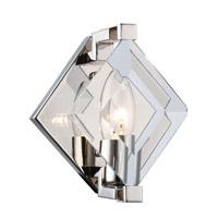 Elegant Lighting 4000W6PN Endicott 1 Light 6 inch Polished Nickel Wall Sconce Wall Light, Urban Classic