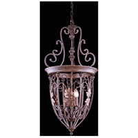 Troy 4 Light 18 inch Gilded Umber Pendant Ceiling Light, Urban Classic