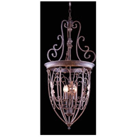 Troy 6 Light 22 inch Gilded Umber Pendant Ceiling Light