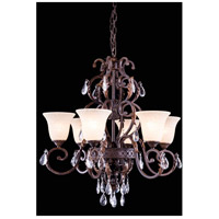Troy 6 Light 31 inch Gilded Umber Pendant Ceiling Light