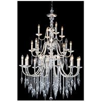 Elegant Lighting 5006D36PS/EC Gracieux 24 Light 36 inch Polished Silver Chandelier Ceiling Light in Elegant Cut