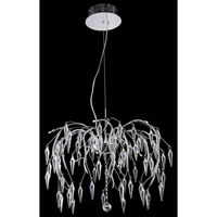 Elegant Lighting Armour 12 Light Chandelier in Chrome with Elegant Cut Clear Crystal 5008D24C/EC