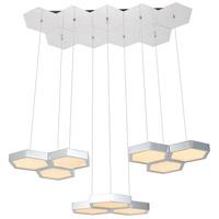 Elegant Lighting 5104D32C Hampton LED 13 inch Chrome Pendant Ceiling Light