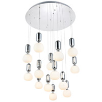 Lea LED 30 inch Chrome Pendant Ceiling Light