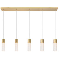Elegant Lighting 5200D42G Constellation LED 5 inch Gold Pendant Ceiling Light