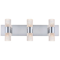 Elegant Lighting 5200W24C Vega LED 24 inch Chrome Wall Sconce Wall Light