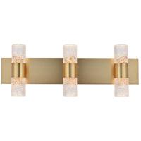 Elegant Lighting 5200W24G Vega LED 24 inch Gold Wall Sconce Wall Light