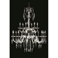 Elegant Lighting 5818G36DB/EC Grande 18 Light 36 inch Dark Bronze Chandelier Ceiling Light in Elegant Cut
