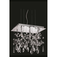 Mirage 3 Light 10 inch Chrome Pendant Ceiling Light