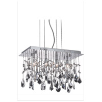 Elegant Lighting 5901D18C/RC Mirage 4 Light 10 inch Chrome Dining Chandelier Ceiling Light alternative photo thumbnail