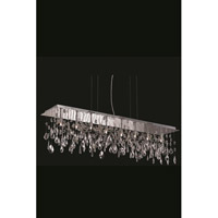 Mirage 8 Light 10 inch Chrome Dining Chandelier Ceiling Light