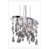 Elegant Lighting 5902D18C/RC Mirage 4 Light 10 inch Chrome Dining Chandelier Ceiling Light alternative photo thumbnail