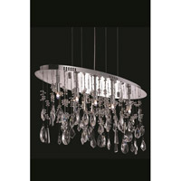 Elegant Lighting Mirage 5 Light Dining Chandelier in Chrome with Royal Cut Clear Crystal 5902D26C/RC