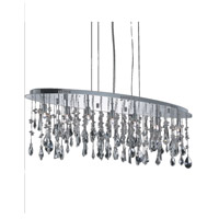 Elegant Lighting Mirage 7 Light Dining Chandelier in Chrome with Royal Cut Clear Crystal 5902D38C/RC alternative photo thumbnail