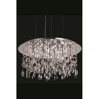 Elegant Lighting Mirage 9 Light Dining Chandelier in Chrome with Royal Cut Clear Crystal 5903D26C/RC