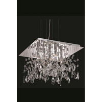 Elegant Lighting Mirage 5 Light Dining Chandelier in Chrome with Royal Cut Clear Crystal 5904D18C/RC