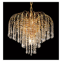 Elegant Lighting Falls 6 Light Dining Chandelier in Gold with Royal Cut Clear Crystal 6801D19G/RC alternative photo thumbnail