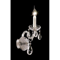 Elegant Lighting 7829W1C/SS Alexandria 1 Light 4 inch Chrome Wall Sconce Wall Light in Swarovski Strass alternative photo thumbnail