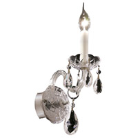 Elegant Lighting Alexandria 1 Light Wall Sconce in Chrome with Elegant Cut Clear Crystal 7829W1C/EC